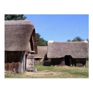 Pueblo sajón Anglo del arrumage del oeste, Suffolk Postal