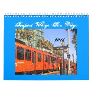 Pueblo San Diego 2015 del puerto Calendario