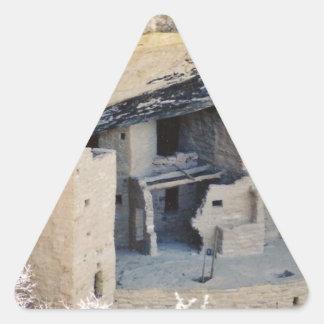 Pueblo Triangle Sticker