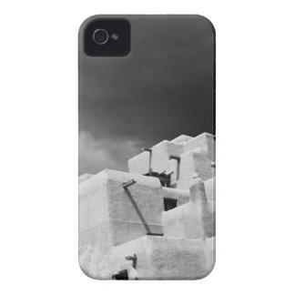 Pueblo style adobe Inn at Loretto, Santa Fe, New 2 Case-Mate iPhone 4 Case