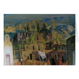 Pueblo Tesque Card
