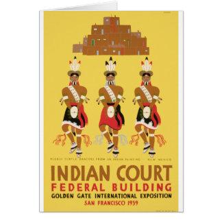 Pueblo Turtle Dancers Card