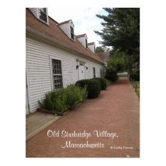 Pueblo viejo de Sturbridge, Massachusetts Postal