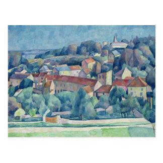 Pueblo y castillo de Hardricourt Tarjetas Postales
