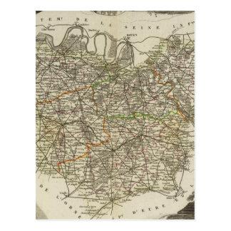 Pueblo y ciudades tarjeta postal