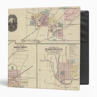 Pueblos de Platteville, de Boscobel y de Darlingto