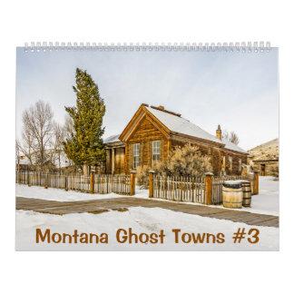 Pueblos fantasmas #3 de Montana Calendarios