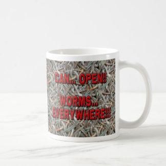 Puede abrir la taza