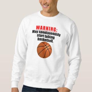 Puede comenzar espontáneamente a hablar baloncesto sudaderas encapuchadas