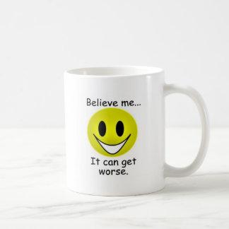 Puede conseguir peor taza de café