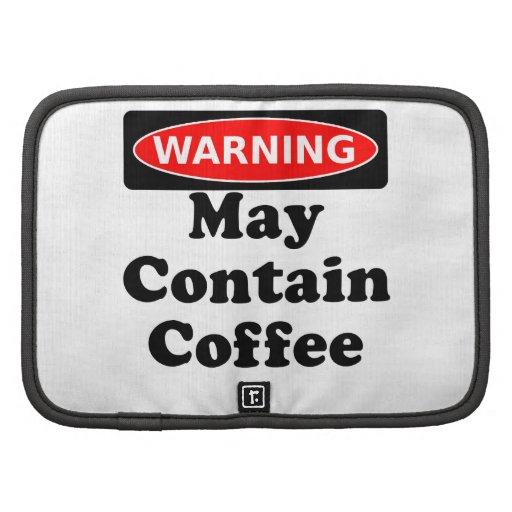 Puede contener el café organizador