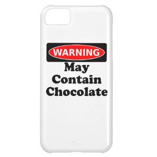 Puede contener el chocolate