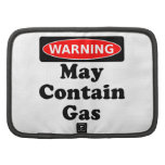 Puede contener el gas organizador