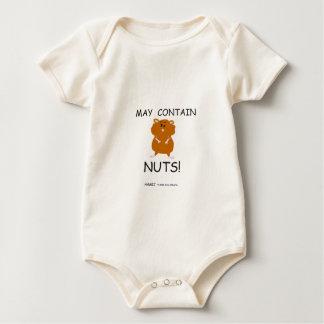 Puede contener el hámster sirio Nuts Body Para Bebé