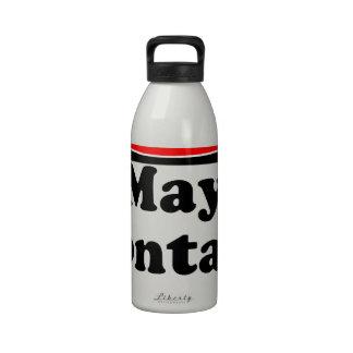 Puede contener el tocino botella de beber