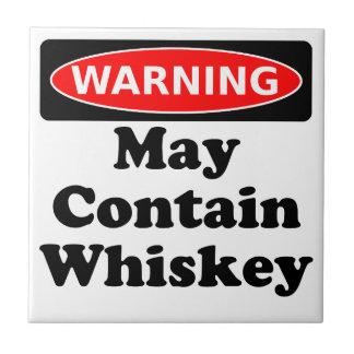 Puede contener el whisky azulejo