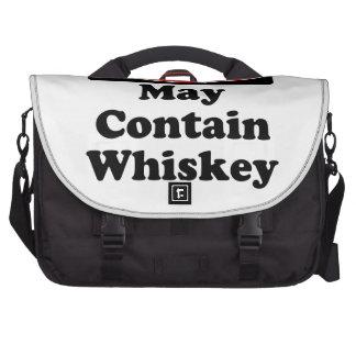 Puede contener el whisky bolsas para portatil