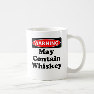 Puede contener el whisky taza de café