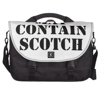 Puede contener escocés bolsas para portatil