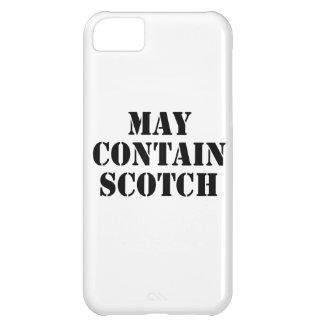 Puede contener escocés
