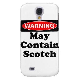 Puede contener escocés funda samsung s4