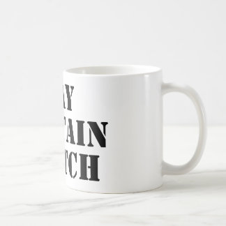 Puede contener escocés taza de café