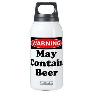 Puede contener la cerveza