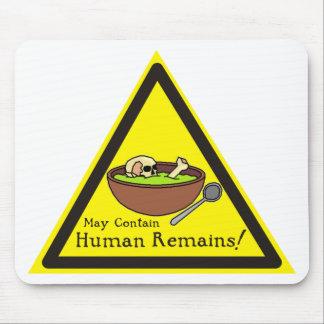 Puede contener la estera humana del ratón de los r tapetes de ratón