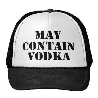 Puede contener la vodka gorras de camionero