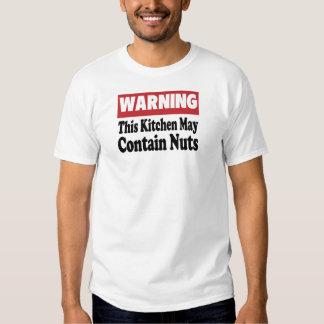 Puede contener nueces camisas