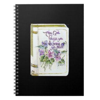 Puede dios bendecirle y traerle el diario de la pa spiral notebooks