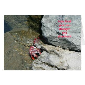 ¡Puede dios darle fuerza y la dirección! Tarjetas
