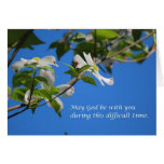 Puede dios estar con usted tarjetas