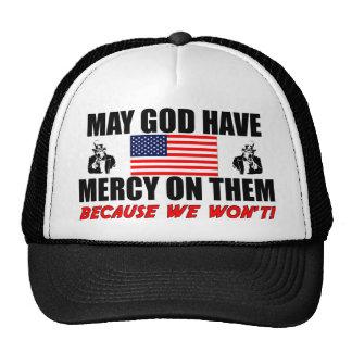 ¡Puede dios tener misericordia en ellos! Gorras
