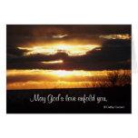 Puede el amor de dios enfold le, consigue la tarje tarjeton
