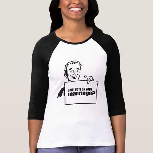 Puede el voto de I en su boda Camisetas