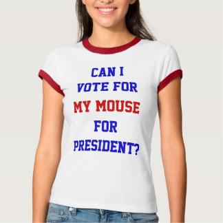 Puede el voto de I para mi ratón para la camisa