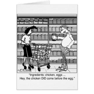 Puede etiquetar tiene la respuesta tarjeta de felicitación