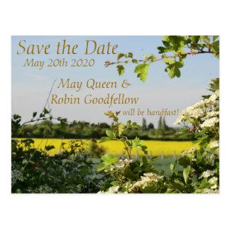 Puede florecer reserva del boda de Beltane la Tarjetas Postales