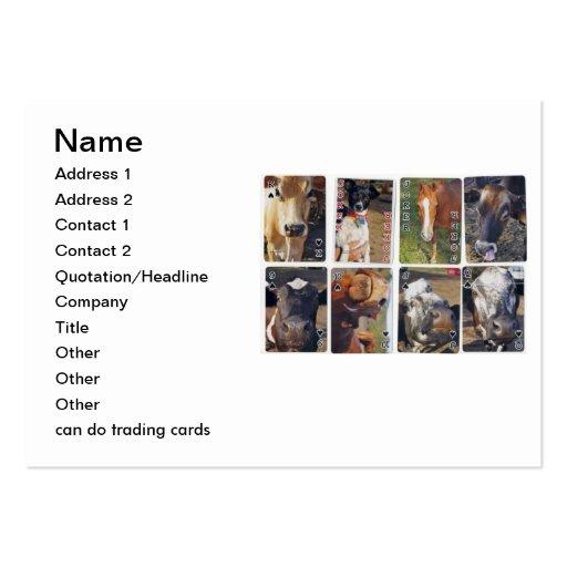 puede hacer tarjetas de comercio tarjeta de visita