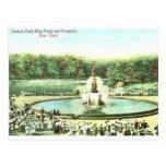 Puede ir de fiesta, el Central Park, vintage de NY Postal