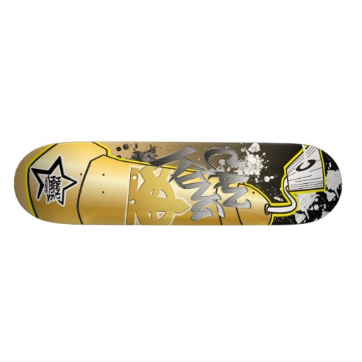 Puede rey Graffiti Skateboard