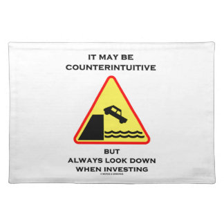 Puede ser mirada antiintuitiva abajo invierte siem manteles