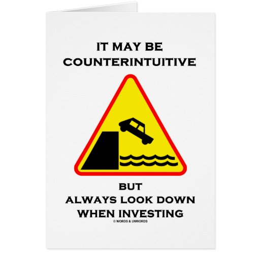 Puede ser mirada antiintuitiva abajo invierte siem tarjeta