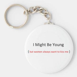 puede ser que sea llavero joven