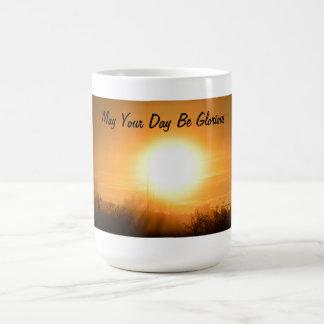 Puede su día ser taza de café gloriosa