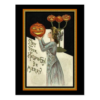 Puede su Halloween ser feliz Postales