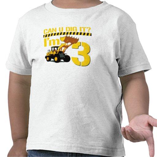 ¿Puede U cavarlo? Soy 3 Camisetas