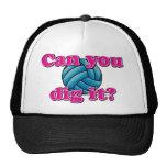 ¿Puede usted cavarlo? ¡Voleibol! Gorro