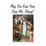 ¡Puede usted encontrar a su propio Sr. Darcy! Tarjetas Postales